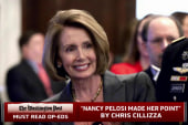 Nancy Pelosi loses but makes her point