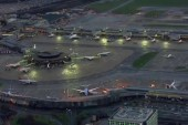 London airspace reopens, with restrictions