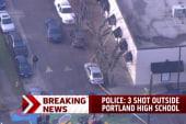 Shooting outside Portland, Oregon high school