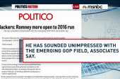 Mitt Romney's unimpressed with 2016 field