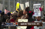 March against police violence underway in DC