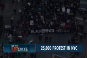Thousands take to the streets in NYC