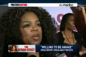 Oprah weighs in on nationwide protests