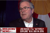 Jeb Bush makes 2016 announcement