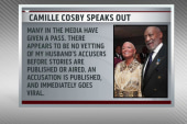 Camille Cosby speaks out, defends husband