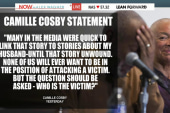 Cosby's wife: 'Who is the victim?'