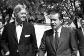 Nixon and Moynihan, strange bedfellows