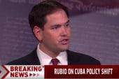 Rubio condemns shift in US-Cuba policy
