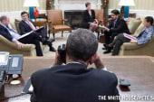 Obama, Castro make historic direct contact