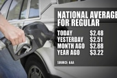 Gas prices drop below $2 a gallon