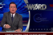 Stephen Colbert signs off