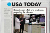 US gets low mark for disease prep: report