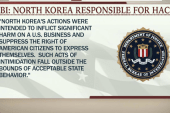 FBI: North Korea behind Sony hacking