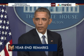 Obama: 'We've gone through difficult times'