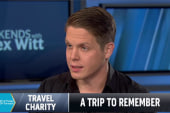 Man who offered free trip launches charity
