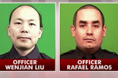 NYC grieves two police officers