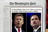 Rubio, Paul clash over Cuba