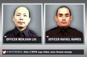 NYPD officers shot, execution style