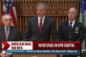 NYC mayor: 'Put aside protests'