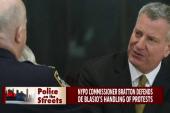 Tense ties between de Blasio, NYPD