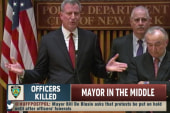 NYC mayor caught in center of storm