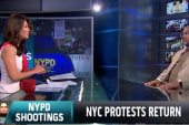 Protests return to NYC streets