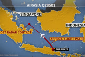 Contact lost with AirAsia plane carrying 162