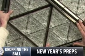 Waterford Crystal ball almost ready for NYE