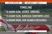 US asked to assist in AirAsia plane search
