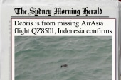 Bodies, debris recovered in missing plane...