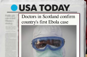 UK confirms first case of Ebola