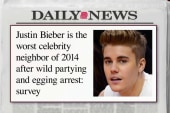 The worst celeb neighbor of 2014 is ...