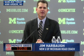 Jim Harbaugh inks a new deal