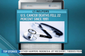 US cancer deaths on the decline