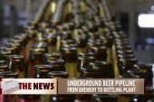 One town to get underground beer pipeline