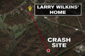 Child survives plane crash that killed family