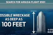 Divers on standby in AirAsia search