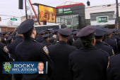 New York police turn their backs on mayor