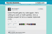 Powell picks up a vote for House speaker