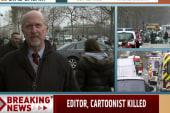 Manhunt underway for Paris gunmen