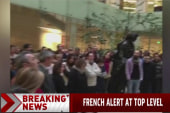 Dozens observe moment of silence in Paris