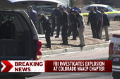 FBI investigates explosion near NAACP chapter