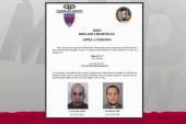 French authorities publish wanted poster