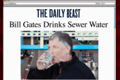 Why Bill Gates drank water made from sewage