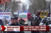 Officer dies after shooting in Paris suburb