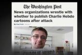 Media split over showing Muhammad cartoons