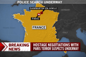 Hostage negotiations underway in France