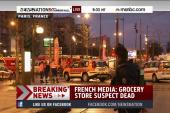 Reports: Paris market suspect is dead