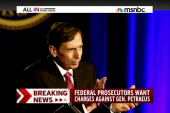 Felony charges for David Petraeus?