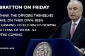 NYPD returning to 'normal patterns of work'